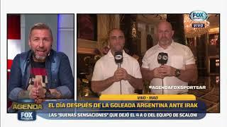 El día después de la goleada argentina ante Irak  FOX Sports
