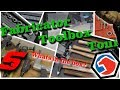 Fabricator Toolbox Tour - Snap-On and Matco and Hammers Oh My!
