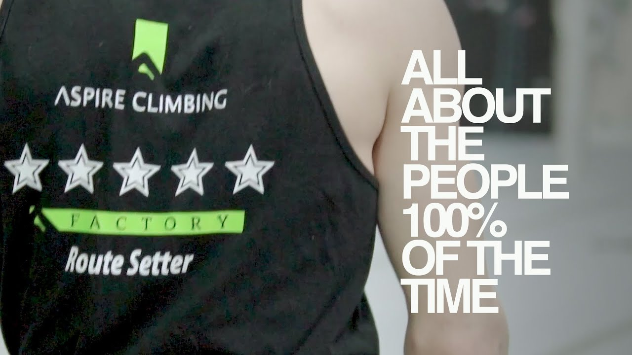 Aspire Climbing - All About the People