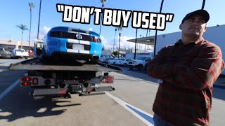 The Shelby GT500 needs a new ENGINE AFTER 9,000 MILES?!