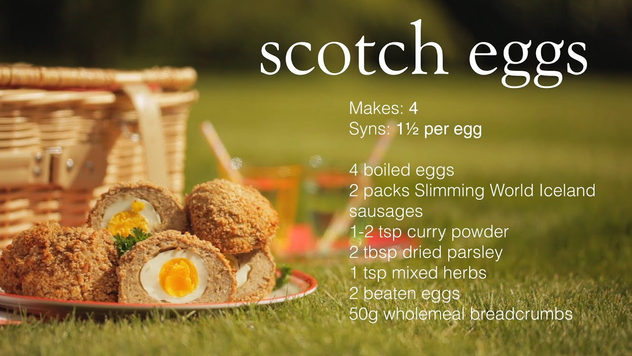 Slimming World Home Made Scotch Eggs Recipe Youtube
