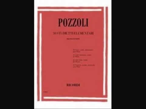 Ettore Pozzoli : 30 studietti elementari