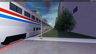 Trainspotting at Pinewood (Rails Unlimited - ROBLOX)