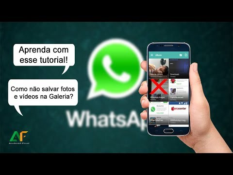 Como Evitar que Fotos e V�deos do WhatsApp apare�am na Galeria - 2018