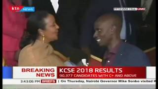 These are the top 20 candidates  |#KCSEResults2018