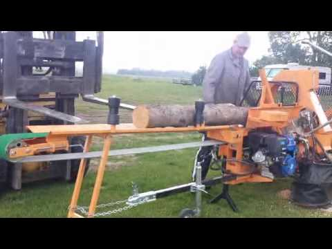 RR2500 Firewood Processor with optional infeed