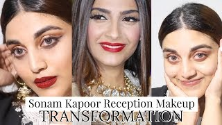 Sonam Kapoor Wedding Reception Inspired Makeup | Swalla - Jathi