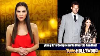 Video ¡Kim y Kris Complican Su Divorcio Aun Más! download MP3, 3GP, MP4, WEBM, AVI, FLV November 2017