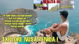 Download lagu EXPLORE NUSA PENIDA | KENYATAAN DI BALIK PHOTO INSTRAGAMABLE | EXPLORE KELINGKING BEACH