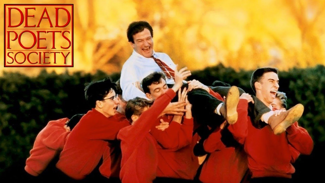 Dead Poets Society 1989 Film Robin Williams O My Captain Youtube