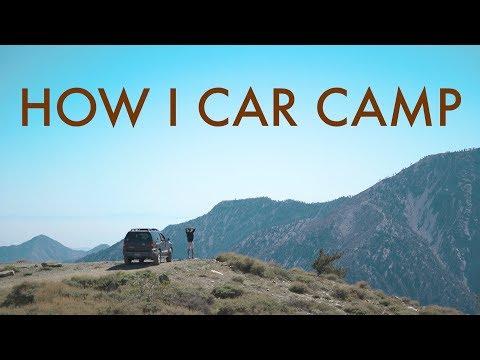 HOW I CAR CAMP