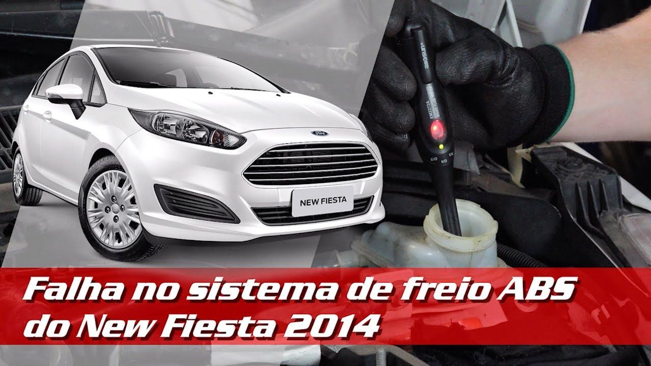 Falha no sistema de freios ABS do New Fiesta 2014