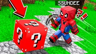 SPIDER MAN LUCKY BLOCK CHALLENGE | *LEGENDARY* SUPERHERO in Minecraft!!!!