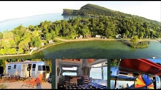 Airstreaming at Lake Garda - Living riveted in Italy :-)