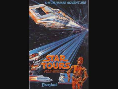 Disneyland music- Star Tours ride audio