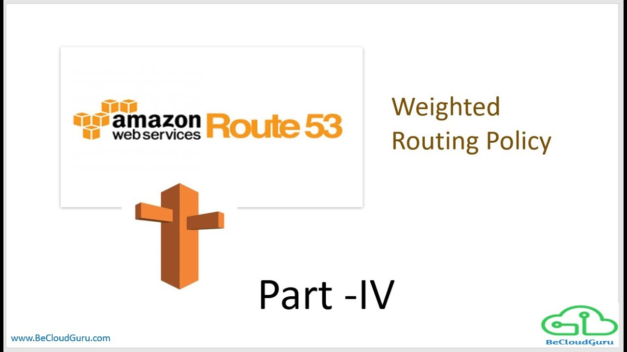 AMAZON AWS ROUTE 53 WEIGHTED ROUTE POLICY | AWS ROUTE53 Weighted Routing  Policy