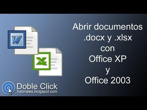 📚-abrir-documentos-.docx-y-.xlsx-con-office-xp-y-office-2003---tutorial-|-doble-click-tutoriales