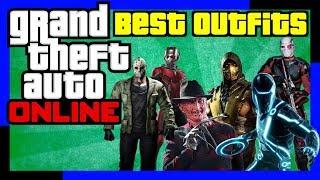 GTA Online: Best Outfits (Ant-Man | Freddy Krueger | Scorpion | Tron | Jason | Military | Deadshot)
