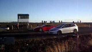 93´ 3000GT VR4 VS SUPERCARGED CIVIC TYPE R