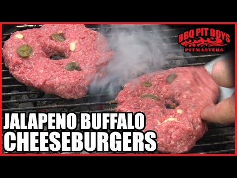 Buffalo Cheeseburgers by the BBQ Pit Boys