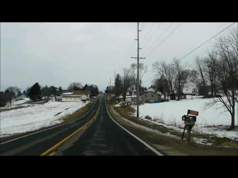 Wisconsin Highway 171 Through Mt Sterling 54645