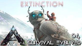 ARK: EXTINCTION - NEW SNOW OWL TAME !!!   ARK SURVIVAL EVOLVED E04