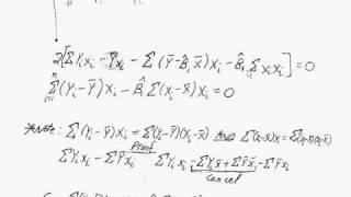 3 Derivation Of OLS Formulas