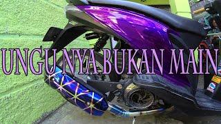 Repaint Body Beat Karbu Candy Tone Violet Diton Premium