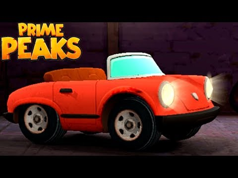 МАШИНКИ Prime Peaks #1 Новинка Прохождение игры про машины для детей VIDEO FOR KIDS cars games