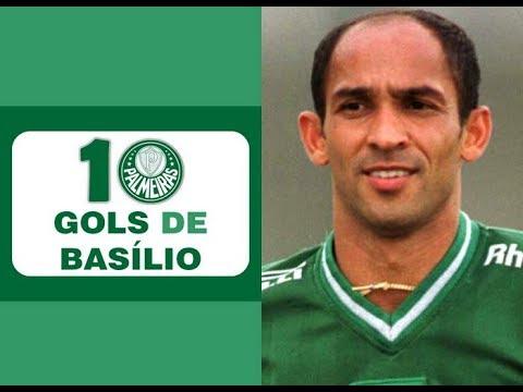 10 Gols de BASÍLIO (Palmeiras)