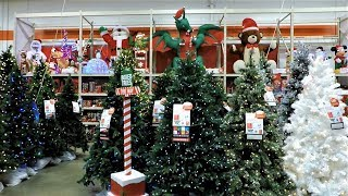 Video 4K CHRISTMAS SECTION AT HOME DEPOT - Christmas Shopping Christmas Trees Decorations Ornaments download MP3, 3GP, MP4, WEBM, AVI, FLV November 2018