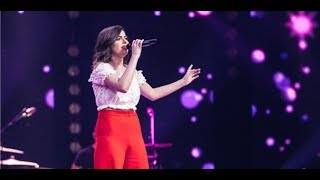 The Voice Blind Audition - Sama Shoufani -