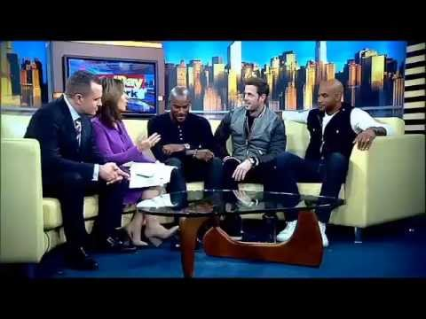 William Levy @willylevy29 Tyson Beckford and Boris Kodjoe preview their movie 'Addicted' - #GDNY