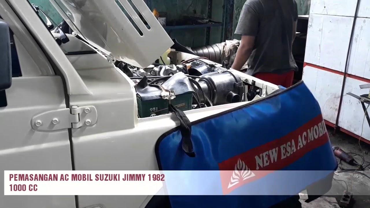 Pemasangan Ac Mobil Suzuki Jimmy Th 1982 Youtube