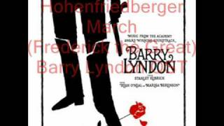 Barry Lyndon Original Soundtrack; Hohenfriedberger March