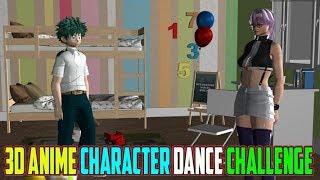3d Anime Character Taki Taki Dance Challenge ☼ Animated Video ♪♪♪
