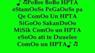 Yandar Yostin BoBo HPTA , con letra