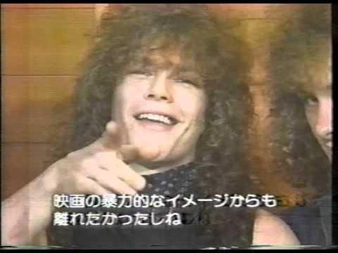 Helloween   Interview Japan 1987 Kiske