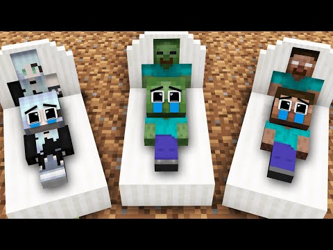 Monster School : Good Father Zombie Find Baby From Wither Skeleton - Sad Story - Minecraft Animation