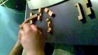 Cubo Rubik De Madera