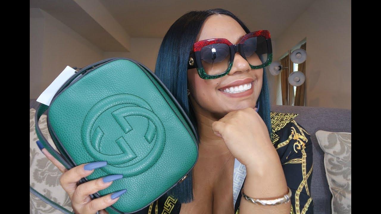 8c1cb24f764 Reveal  Gucci Soho Disco bag and Gucci Sunglasses - YouTube