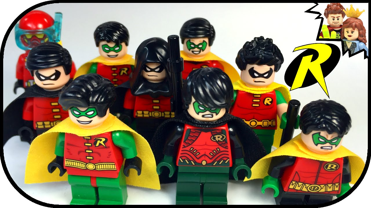 LEGO Robin Minifigure Batman DC Super Heroes Collection ...