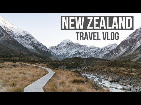 NEW ZEALAND ROADTRIP (Franz Josef, Mount Cook, Arthurs Pass)