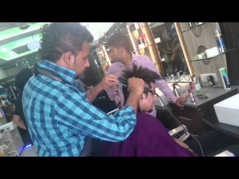 Nagar Hair Stylers A Kay New Hair Cut Youtube