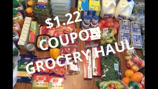 HEALTHY COUPON GROCERY HAUL  FAMILY OF 6