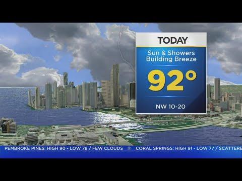 CBSMiami.com Weather 9/1 5AM