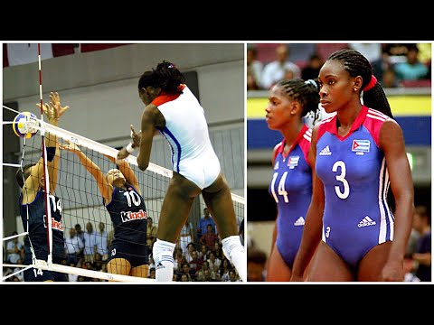 339cm Monster Of The Vertical Jump - Mireya Luis (HD)
