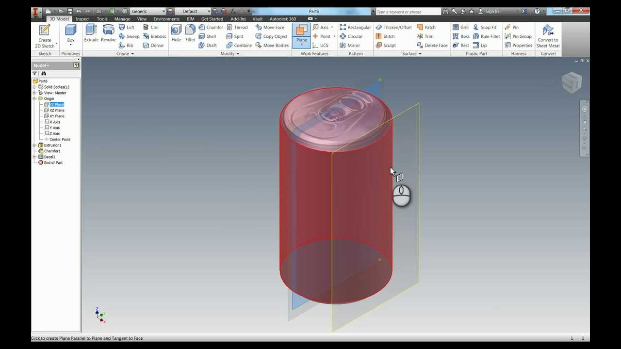 Modelling a Coke Can in 3D, in under 4 minutes!! - YouTube