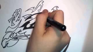 Как рисовать эскиз тату (Pokemon)(Музыка в видео : Maroon 5 - Love Somebody Пишите, комментируйте ,ставте пальцы вверх,ПОДПИСУЙТЕСЬ !!!, 2015-01-02T00:42:20.000Z)