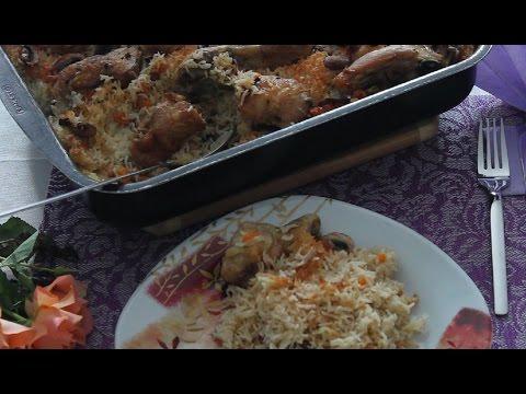 Рис с куриными ножками в мультиварке